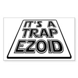 It's A Trapezoid Funny Pun Decal