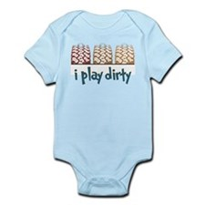 I Play Dirty Infant Bodysuit