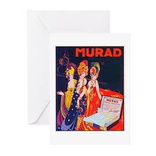 ART NOUVEAU Greeting Cards (Pk of 10)