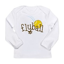 Fly Ball Long Sleeve Infant T-Shirt