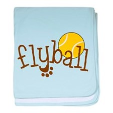 Fly Ball baby blanket