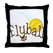 Fly Ball Throw Pillow
