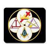 York Rite Bodies Mousepad
