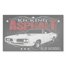 Kicking Asphalt - Super Bee Decal