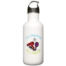 I'm A Beautician, Not a Magician! Water Bottle