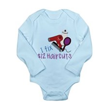 I Fix Long Sleeve Infant Bodysuit