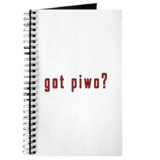 got piwo? Journal
