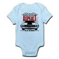 Kicking Asphalt - Challenger Infant Bodysuit