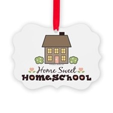 Cool School house Ornament