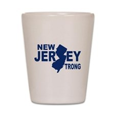 New jersey Strong Shot Glass