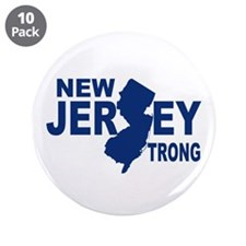 "New jersey Strong 3.5"" Button (10 pack)"