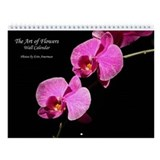 The Art of Flowers Wall Calendar
