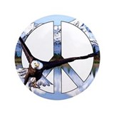 "Peace Eagle 3.5"" Button (100 pack)"