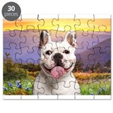French Bulldog Meadow Puzzle
