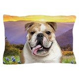 Bulldog Meadow Pillow Case