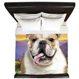 Bulldog Meadow King Duvet