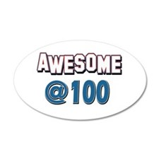 Awesome at 100 Wall Decal