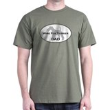 Wire Fox Terrier DAD Black T-Shirt