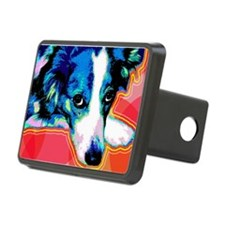 Border Collie Pop Art Hitch Cover