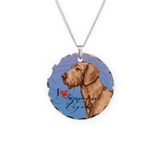 Wirehaired Vizsla Necklace