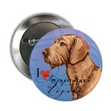 "Wirehaired Vizsla 2.25"" Button"