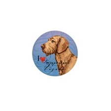 Wirehaired Vizsla Mini Button