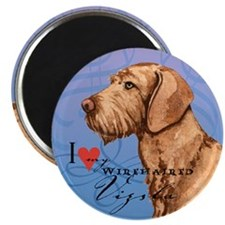 "Wirehaired Vizsla 2.25"" Magnet (10 pack)"