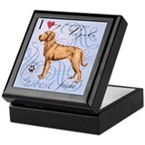 Wirehaired Vizsla Keepsake Box