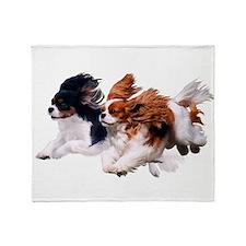 Lily & Rosie, Running Throw Blanket