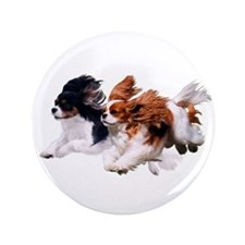 "Lily & Rosie, Running 3.5"" Button (100 pack)"