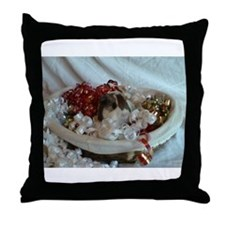 baby cavy Throw Pillow