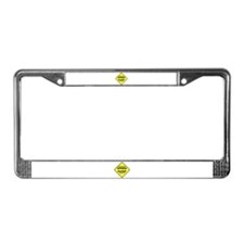 SPEED HUMP License Plate Frame
