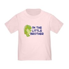 i'm the little brother dinosaur Kids T-Shirt T-Shi