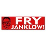 Fry Janklow Bumper Car Sticker