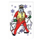 Santa Elvis Postcards (Package of 8)