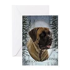 English Mastiff Christmas Card
