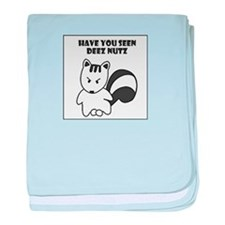 Have you seen deez nuts baby blanket