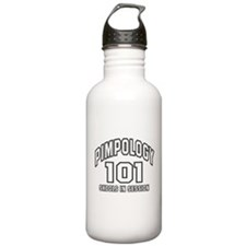 Pimpology 101 Water Bottle