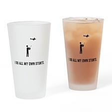 RC Aeroplane Drinking Glass