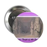 "Statues reproductions luxor 2.25"" Button (100 pack)"
