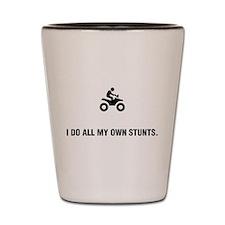 ATV Riding Shot Glass