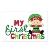 Baby Elf Babies First Christmas Postcards (Package