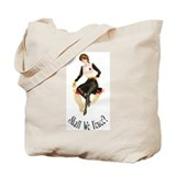 Shall We Fence? Tote Bag