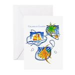 Tropic Greeting Cards (Pk of 10)
