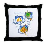Tropic Throw Pillow