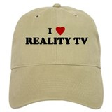 I Love REALITY TV Baseball Cap