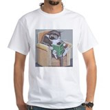 cat_reading_new T-Shirt T-Shirt