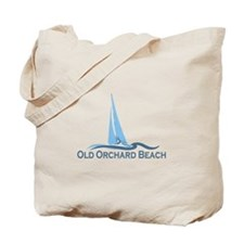 Old Orchard Beach ME - Sailing Design Tote Bag