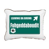 The Bronx Rectangular Canvas Pillow