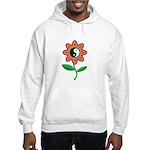 Retro Yin Yang Flower Hooded Sweatshirt